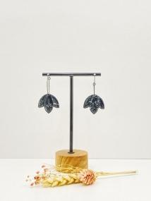 Créole noir marbré