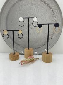 Bouchon d'oreille double anneau